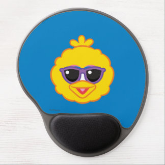 Big Bird Smiling Face with Sunglasses Gel Mouse Pad