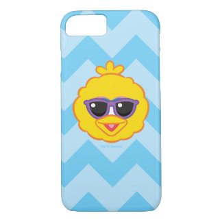 Big Bird Smiling Face with Sunglasses iPhone 8/7 Case