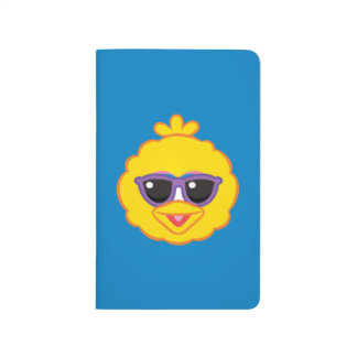 Big Bird Smiling Face with Sunglasses Journal