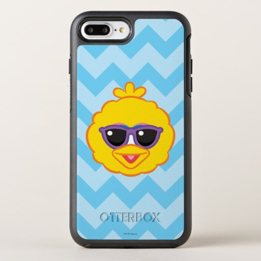 Big Bird Smiling Face with Sunglasses OtterBox Symmetry iPhone 8 Plus/7 Plus Case