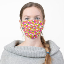 Big Bird | Tropical Pattern 2 Adult Cloth Face Mask