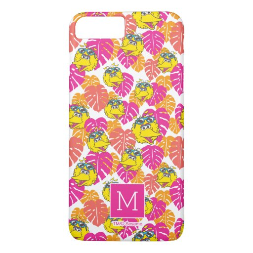 Big Bird | Tropical Pattern iPhone 8 Plus/7 Plus Case