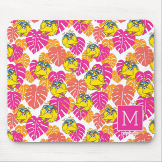 Big Bird | Tropical Pattern Mouse Pad