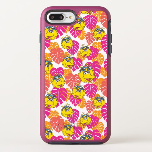 Big Bird | Tropical Pattern OtterBox Symmetry iPhone 8 Plus/7 Plus Case