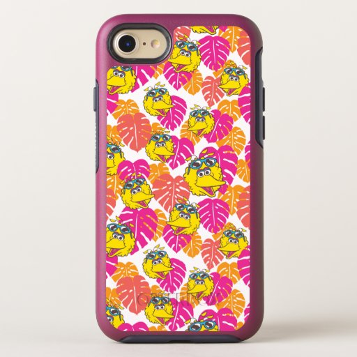 Big Bird | Tropical Pattern OtterBox Symmetry iPhone SE/8/7 Case