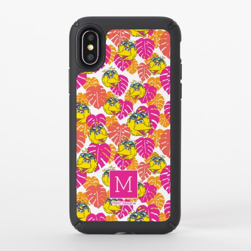 Big Bird | Tropical Pattern Speck iPhone X Case