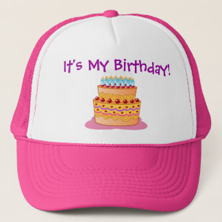 Big Birthday Cake Trucker Hat