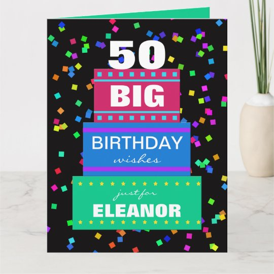 big birthday greeting cards any age - Big Greeting Cards