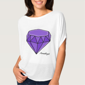 Big Birthstone series –Amethyst T-Shirt