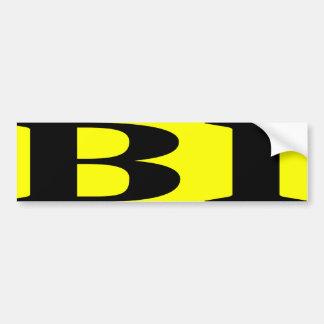 BIG BISEXUAL -.png Car Bumper Sticker