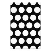 Big Black and White Polka Dots Flyer