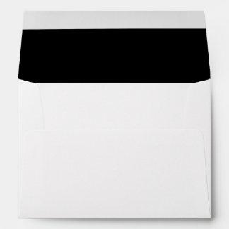 Big Black and White Stripes Envelopes