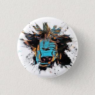 Big Black Bear Button