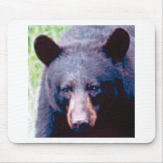 big black bear mouse pad