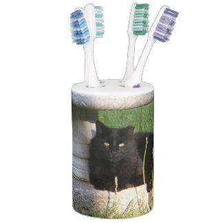 Big Black Cat ~ Bath Set
