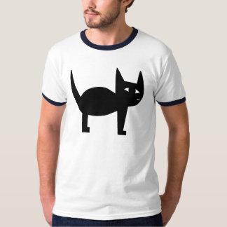 Big Black Cat T Shirt
