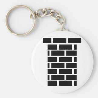big black chimney keychain