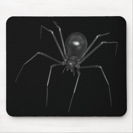 Big Black Creepy 3D Spider Mouse Pads