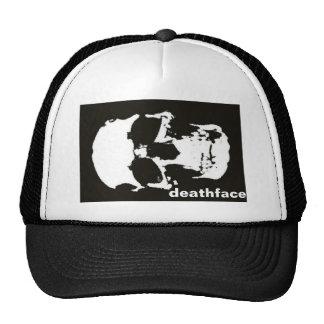 Big Black Deathface Trucker Hat