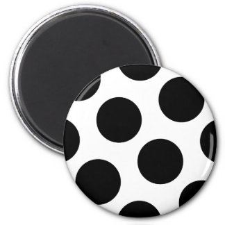Big Black Dots Magnet