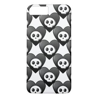 Big Black Hearts iPhone 7 Plus Case