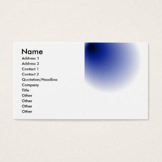 big black hole business card