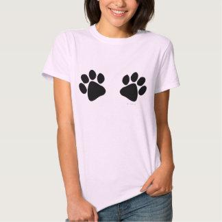 Big Black Paw Prints Large Dog Lover