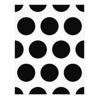 Big Black Polka Dots Flyer