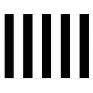 Big Black Stripes on Customizable Background Postcard