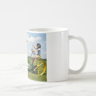 Big Block Lawn Mower Coffee Mug