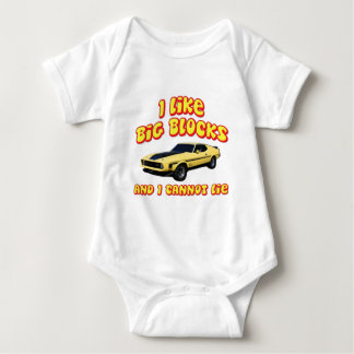 Big Blocks Mustang Mach 1 Fastback Shirt
