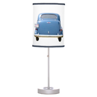 Big Blue 1940s Chevy Man Cave Table Lamp