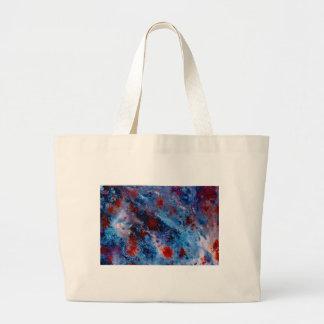 Big Blue Canvas Bag