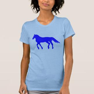 Big Blue Beautiful Horse T-Shirt