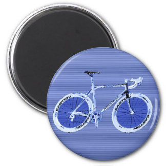 big blue bike magnet
