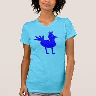 Big Blue Bird Being Beautiful T-Shirt