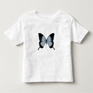 Big Blue & Black Butterfly Toddler T-shirt