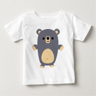 Big Blue Cartoon Bear Baby T-shirt