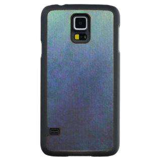 Big Blue Carved® Maple Galaxy S5 Slim Case