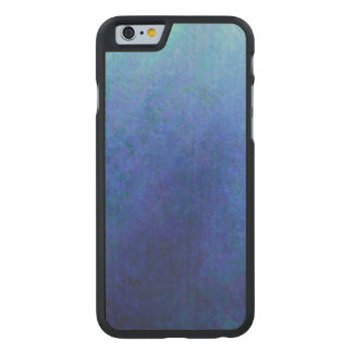 Big Blue Carved Maple iPhone 6 Slim Case