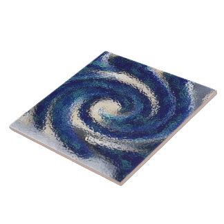 Big Blue ceramic tile