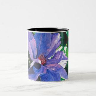 Big Blue Clematis Mug