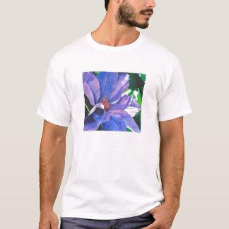 Big Blue Clematis T T-Shirt