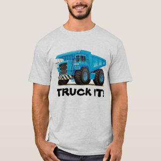 Big Blue Dump Truck T-Shirt