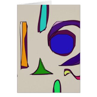Big Blue Eye Card