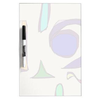 Big Blue Eye Dry-Erase Board