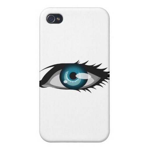 big_blue_eye iPhone 4/4S cases