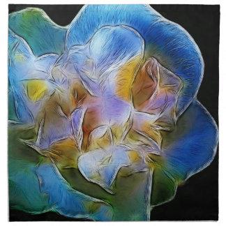 Big Blue Flower Napkins