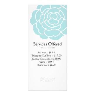 Big Blue Flower Services Rack Card