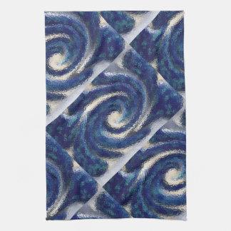 Big Blue kitchen towel